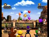 Mario Party 4 GameCube Shoot the balloons in this mini game