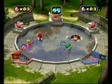 Mario Party 4 GameCube Scoop up fish in this two against two mini game