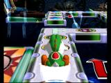 Mario Party 4 GameCube Yoshi rides the mystery train