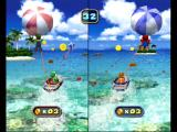 Mario Party 4 GameCube Para sailing in a mini game