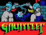 Gauntlet MSX Title screen