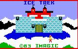 Ice Trek Intellivision Title screen