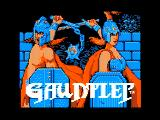 Gauntlet Apple II Title screen