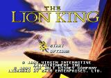 The Lion King Genesis Title screen