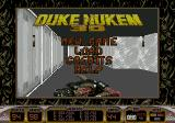 Duke Nukem 3D Genesis Main menu