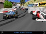 Power F1 DOS Monaco loading screen
