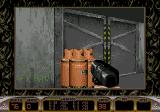 Duke Nukem 3D Genesis Shoot those things to blast the door.