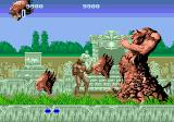 Altered Beast Genesis Boss battle