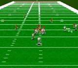 ESPN Sunday Night NFL Genesis The games view lets you see down the entire field.