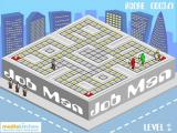 Job Man Browser Level 2 doesn't differ that much from Level 1. Oh sorry, one enemy more.