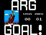 Tecmo World Cup '93 SEGA Master System 0-1 Not a good start