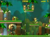Darwin the Monkey Windows In level 3, it is like level 1 but I need more bananas and the frogs shoot arrows.