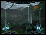 Metroid Prime GameCube On the surface of Tallon IV