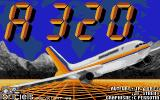 A 320 Atari ST Title Screen
