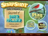 Snapshot Adventures: Secret of Bird Island Windows Main title screen