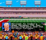 Madden NFL '94 SNES Commentary before the game starts