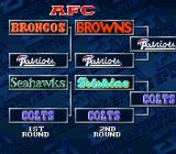 Madden NFL '94 SNES Playoff tree