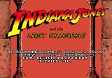 Indiana Jones and the Last Crusade: The Action Game Genesis Title screen