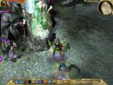 Titan Quest: Immortal Throne Windows Rebirth fountains are decorated with a nice skull.