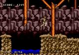Indiana Jones and the Last Crusade: The Action Game Genesis Using the whip to jump over the water pit