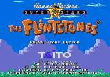 The Flintstones Genesis Title screen