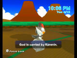 My Pokémon Ranch Wii A theological debate is solved.