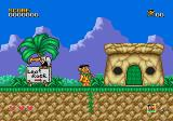 The Flintstones Genesis Starting the game