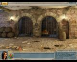Alabama Smith in Escape from Pompeii Windows Prison cells