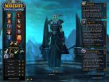 World of Warcraft: Wrath of the Lich King Windows Creating a Nightelf Death Knight.