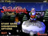 Santa Claus in Trouble Windows Title screen