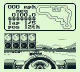 Nigel Mansell's World Championship Racing Game Boy In a race, you have competition.