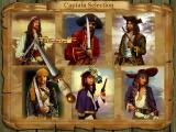 Buccaneer Windows Captain and Plot selection