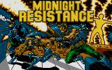 Midnight Resistance Atari ST Title screen