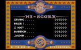 By Fair Means or Foul Atari ST The high score table