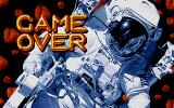 Asteroidia Atari ST Game over
