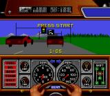 Race Drivin' SNES At the start of the race