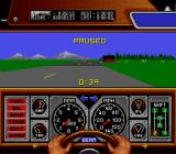 Race Drivin' SNES A paused game