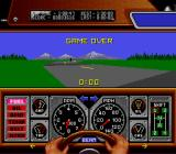 Race Drivin' SNES Game over