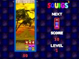Squigs 3 Windows Clearing a line with 3-in-a-row