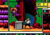 Comix Zone Genesis Creepy things coming out of nowhere