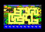 Peter Pan Amstrad CPC At the Lost Bopys' camp, I need to gather flowers without getting caught.