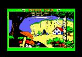 Peter Pan Amstrad CPC Seek my den! (a game of hide-and-seek). I need to find where the children are hiding by clicking bout the screen.