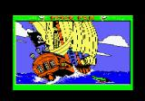 "Peter Pan Amstrad CPC ""I say, Captain, do you hear something?"""