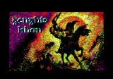 Genghis Khan Amstrad CPC Loading screen