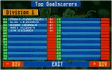 Championship Manager DOS Top scorers in the 1st division