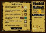 Phantom Mansion II: Treasures of the Seven Seas - The Black Sea Browser Instructions