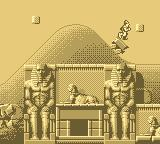 Dragon's Lair: The Legend Game Boy Here Dirk rides a bumper car in some ancient Egypt setting.