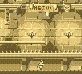 Dragon's Lair: The Legend Game Boy What is a medieval game without a dungeon?