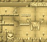 Dragon's Lair: The Legend Game Boy And here Dirk is in the cells.