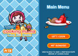 Cooking Mama: Mama Kills Animals Browser Main menu